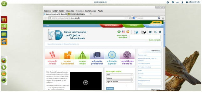 Linux Educacional 5.0 (Screenshot 05)
