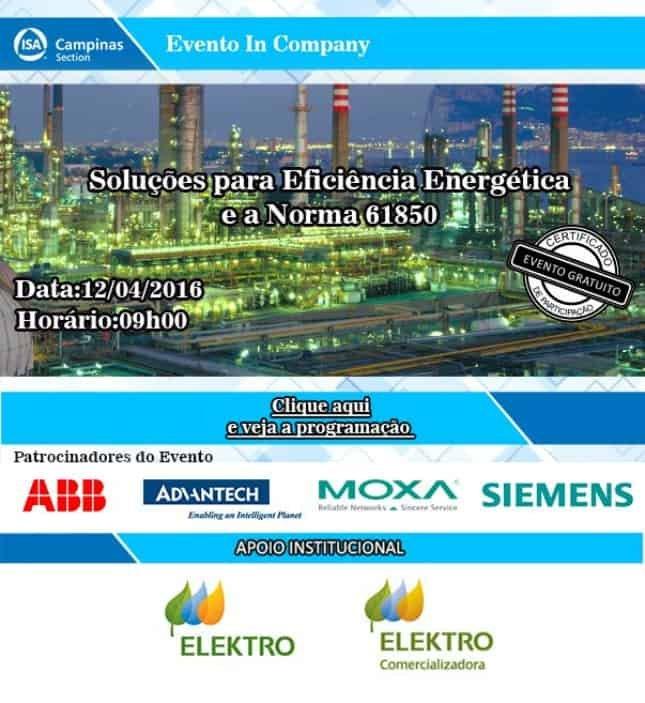 Soluções para Eficiência Energética e a Norma 61850 - ISA Campinas